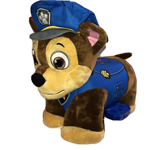 Plush Paw Patrol Chase Ride On Electric Car Toy 1 To 4 Year Olds Kids Boys 6V