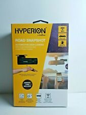 New listing Dash Cam Hyperion Lx1801Sd Road Snapshot Camera Wifi Open Box - New!