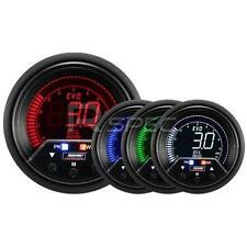 ProSport Evo 60mm LCD Calibre 4 color de la barra de presión de aceite con pico y advertencia