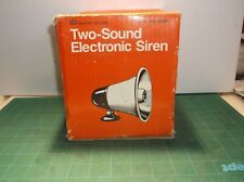 Safe House 49-488D Indoor Outdoor Two Sound Electronic Siren Alarm