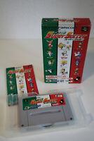 J League Super Soccer Hudson Soft Super Famicom SNES Japan NTSC OVP CIB Boxed
