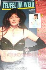 Eine schöne Seite mit Shannen Doherty wow super sexy im schwarzen BH bra 90210