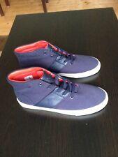 Nuevo Azul Marino Ralph Lauren De Hombre Clásicos Zapatillas Hi-Tops Talla UK8 EU42