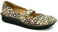 Alegria Womens Shoes Size 40 9.5/10 Feliz Leopard Tan