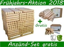 BIO- Holzbriketts Brikett Kamin Ofen Holz Palette 100 Pack a, 10kg
