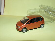 FIAT IDEA Marron Orangé NOREV Sous Coque1/43