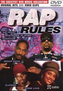 Rap Rules - Music Videos Various Artists DVD Collection NEW