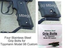 Tippmann 98 Custom Stainless Steel Grip Bolts NO RUST!