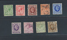 Uk King George V 1912 - 1924 Types Issue Used Stamps Great Britain