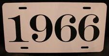 1966 LICENSE PLATE FITS FURY CATALINA IMPALA BELVEDERE SATELLITE BEL AIR GALAXIE