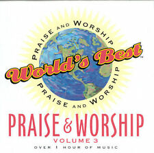 "WORLD'S BEST PRAISE & WORSHIP, Volume 3 (CD) ""All Things Are Possible"" + 14 more"