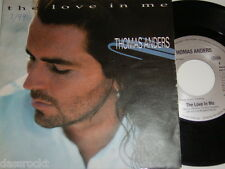 """7"""" - Thomas Anders Love in me & Caught in the middle - 1994 # 3363"""