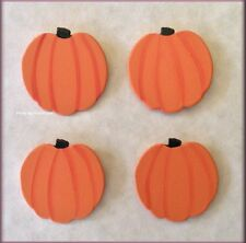 Pumpkins Fall Halloween Metal Magnets Set of 4 by Roeda® Free U.S. Shipping
