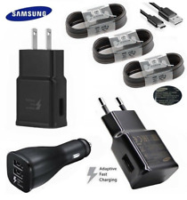 Samsung Galaxy S8 S9+ note9 Adaptive Fast Wall Car Charger Type-C Cable