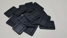 More details for 100x large rectangle 60mm x 40mm - plastic pallet edge corner protectors