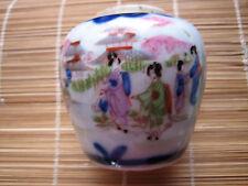 Antico Vasetto Porcellana Cinese