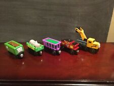 Thomas And Friends Wooden Train Magnetic Chocolate Hippo Cargo Caboose Butch Lot
