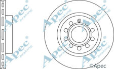 FRONT BRAKE DISCS (PAIR) FOR VW CADDY GENUINE APEC DSK2228