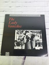 The Lady Vanishes by Alfred Hitchcock Laserdisc Criterion Collection NEW SEALED