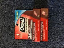 Orajel maximum .42 oz, pack of 2, brand new
