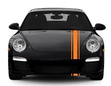 "CAR STRIPES BONNET PLUS,UNIVERSAL,VIPER, 8"" RACING  DOUBLE,BEST QAULITY"