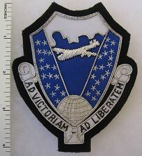 AD VICTORIAM AD LIBERATEM - US AIR FORCE Bullion PATCH Custom Made for VETERANS