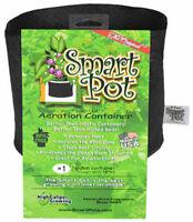 Smart Pot 10001 Small Soft-Sided Fabric Aeration Container, Black, 1-Gallon