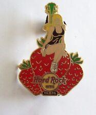 Vintage Hard Rock Cafe Pin  - Tampa Gal on Strawberries