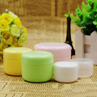 JN_ 5Pcs/Set Empty Makeup Jar Pot Travel Face Cream/Lotion/Cosmetic Containers