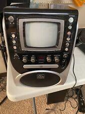 The Singing Machine SML625BTBK Bluetooth CD/G Karaoke System