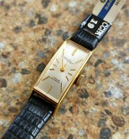 Vintage Ladies Citizen Elegan 19 Jewels Hand Winding Gold Plated August 1964