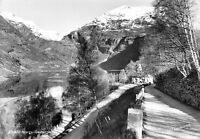 Vintage Norway Real Photo Postcard, Norge, Geiranger by Normann FC5