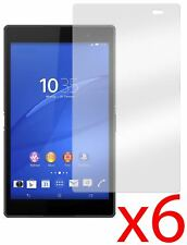 Hellfire Trading 6x Anti-glare Screen Protector for Sony Xperia Z3 Tablet 8""