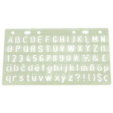 Major Brushes 10mm Lettering Stencil