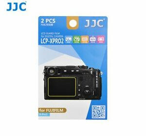 JJC LCP-XPRO2 LCD Guard Film Camera Screen Protector for FUJIFILM X-Pro2 Camera