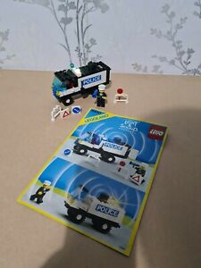 Lego 6450 Legoland Town Light & Sound Police Truck Vintage with instructions