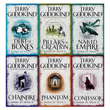 Terry Goodkind Sword of Truth Series(7-12) 6 Books Collection Set Wizard's First