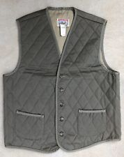 Adirondack by Savile Row Quilted Hunting Vest Men's Sz M