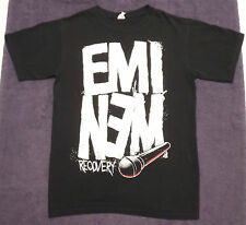 Eminem Recovery T-Shirt with Microphone black size S
