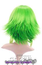 W-111 Vocaloid Gumi Megpoid VERT GREEN 43 cm COSPLAY Perruque WIG Perruque