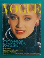 Vogue Italy 361 July August 1980 July Susan Hess Pret IN Porter Furs