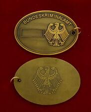 BKA Dienstmarke # Kripomarke # Polizeimarke