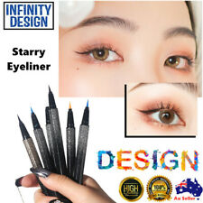 NEW Starry Eyeliner Stamp Waterproof Makeup Eye Liner Pen Pencil Twister Liquid