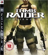 TOMB RAIDER UNDERWORLD | PAL | PS3 | Sony PlayStation 3 - VGC