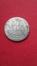 Niederlande. Zeeland. 6 Stuiver 1766. Silber. Dreimaster Segelschiff