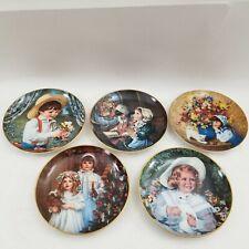 Set of 5 Sandra Kuck Reco Collector Plates Bradford Exchange