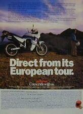 HONDA TRANSLAP Original Motorcycle Ad 1989