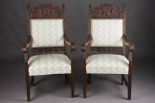 Original Neo Renaissance Armchair Chair Seating Furniture Um 1870-80