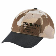 Reebok CrossFit Speedwick Camo Cap Unisex Baseball Training Running Adjustable