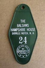 "VINTAGE BALSAMS GRAND RESORT HOTEL ROOM KEY TAG FOB "" HAMPSHIRE HOUSE """